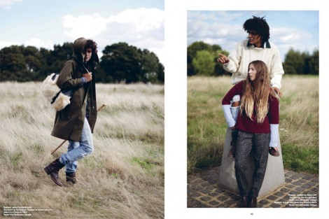 Fashion Editorial with sustainable brand Native Highs inside issue 3