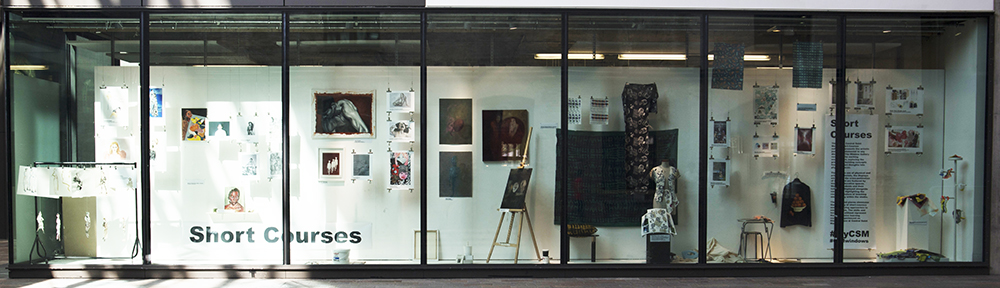 Student work exhibited at CSM