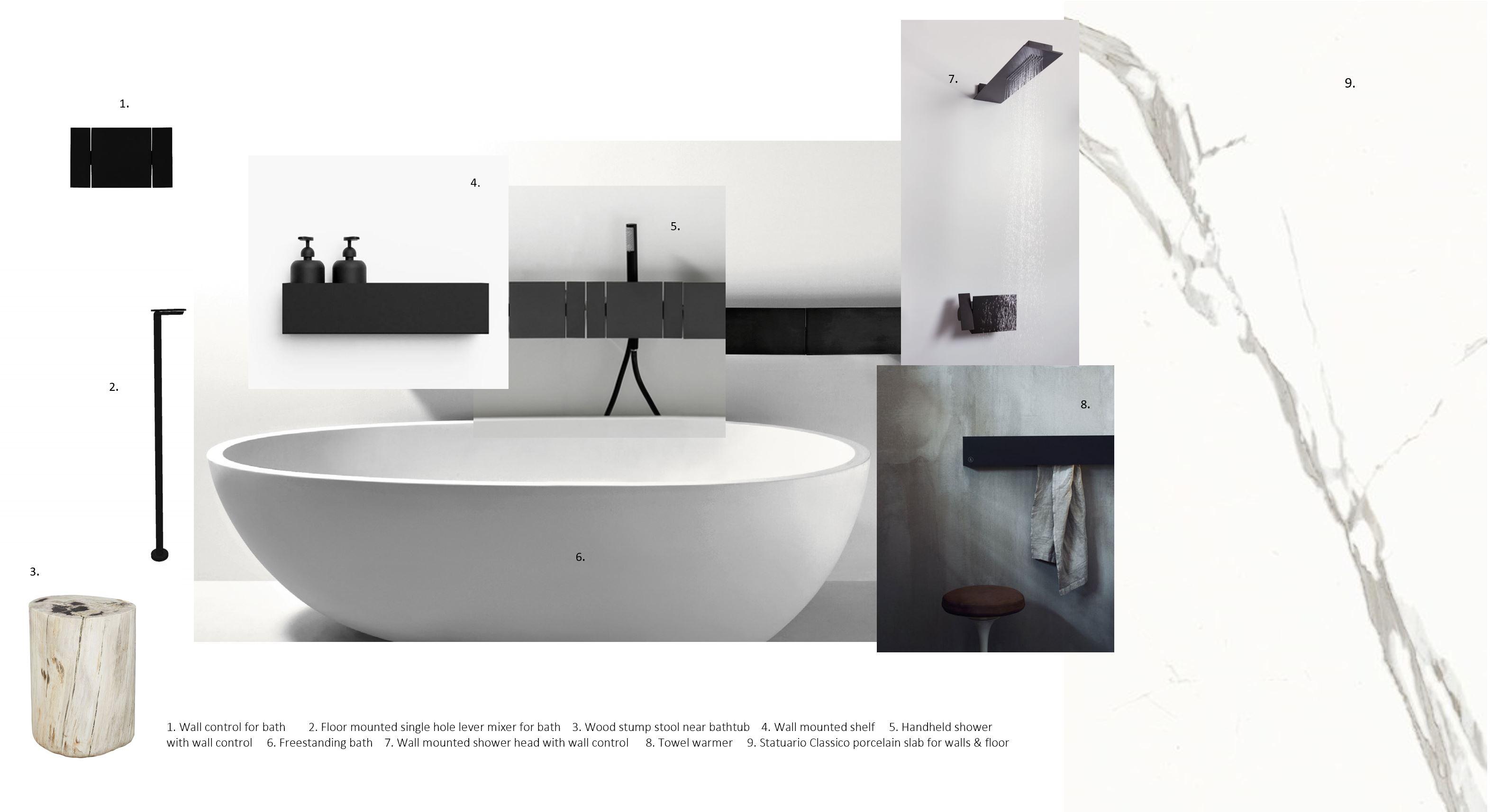 A photo of Triinu Oll's design ideals for a bathroom