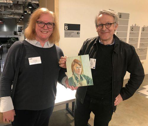 Carol Cooper and Paul Cox, Camberwell alumni (1979)