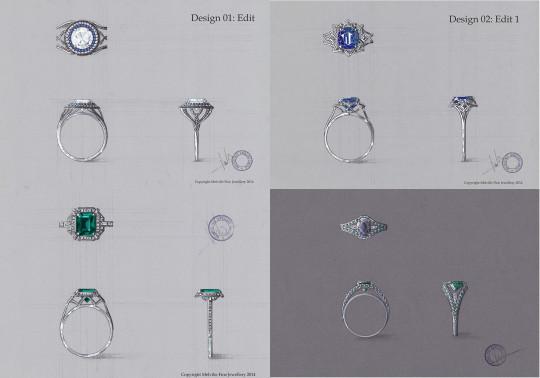 Nathalie's design work