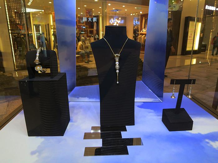 Student jewellery on display