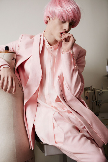 Lookbook image shot by Felix Cooper and styled by Anders Sølvsten Thomsen
