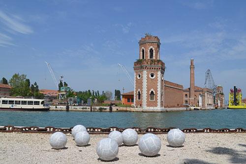 The Last Judgement Venice by Samson Kamalu at the 56th Venice Biennale. Photo via http://www.artnews.com