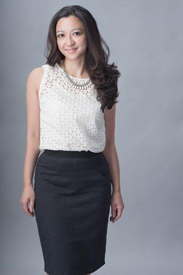 Executive MBA (Fashion) student Julie Man