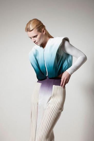 Min Wu, MA Fashion Design Technology: Womenswear MA13