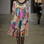 Lucia Kelly, BA (Hons) Fashion Design Technology: Womenswear and Inthira Tangjaroensutthichai, BA (Hons) Fashion Textiles: Print. Photo: Rebecca Thomas.