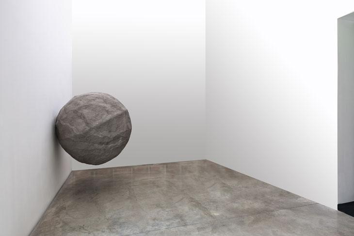 Rebecca Turner, Dumbstruck, 2011 Paper pulp, mixed media