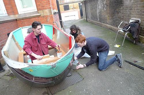 Green week boat1
