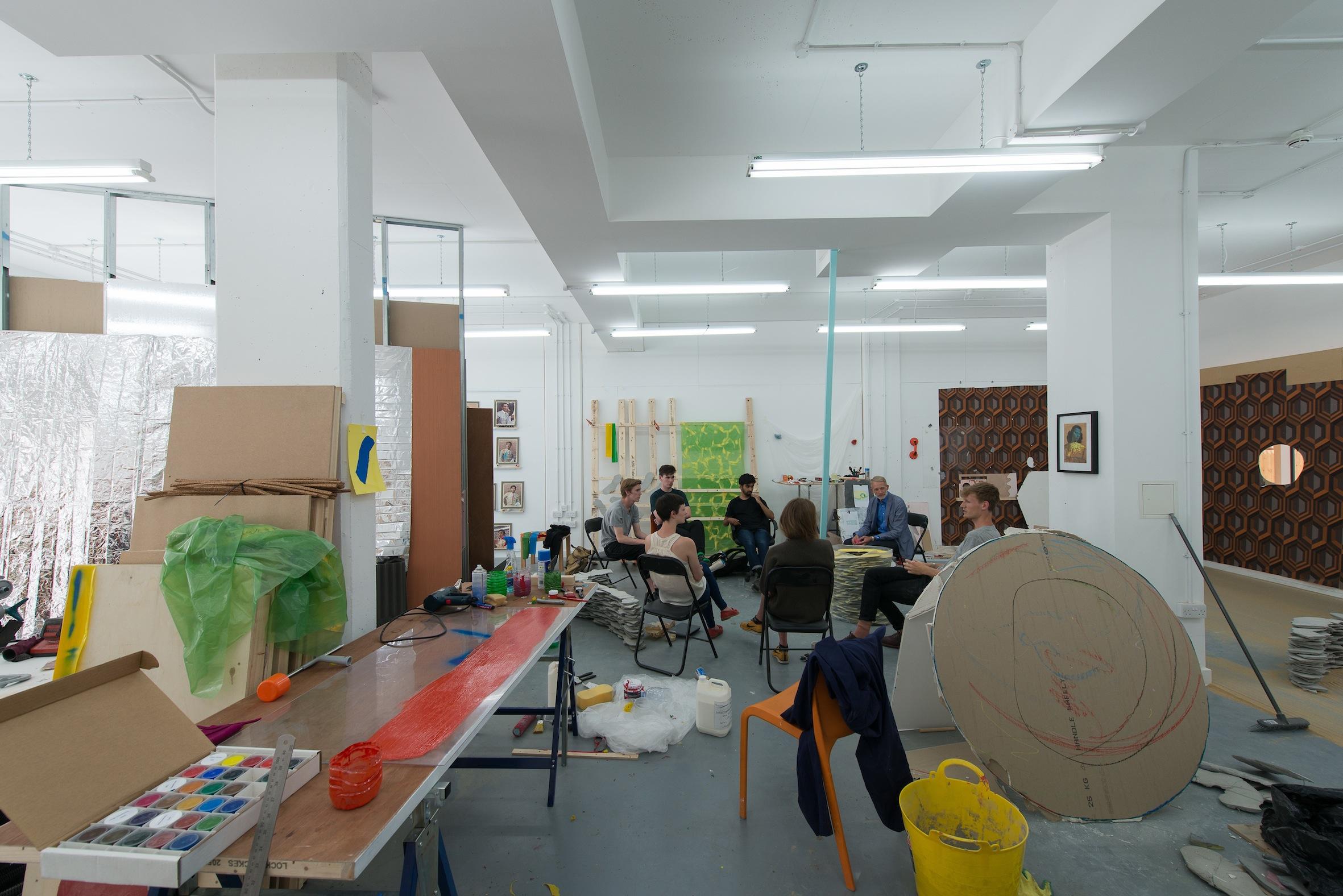 The Acme Studios/CSM Associate Studio Programme, The Glassyard (photo. Hugo Glendinning)