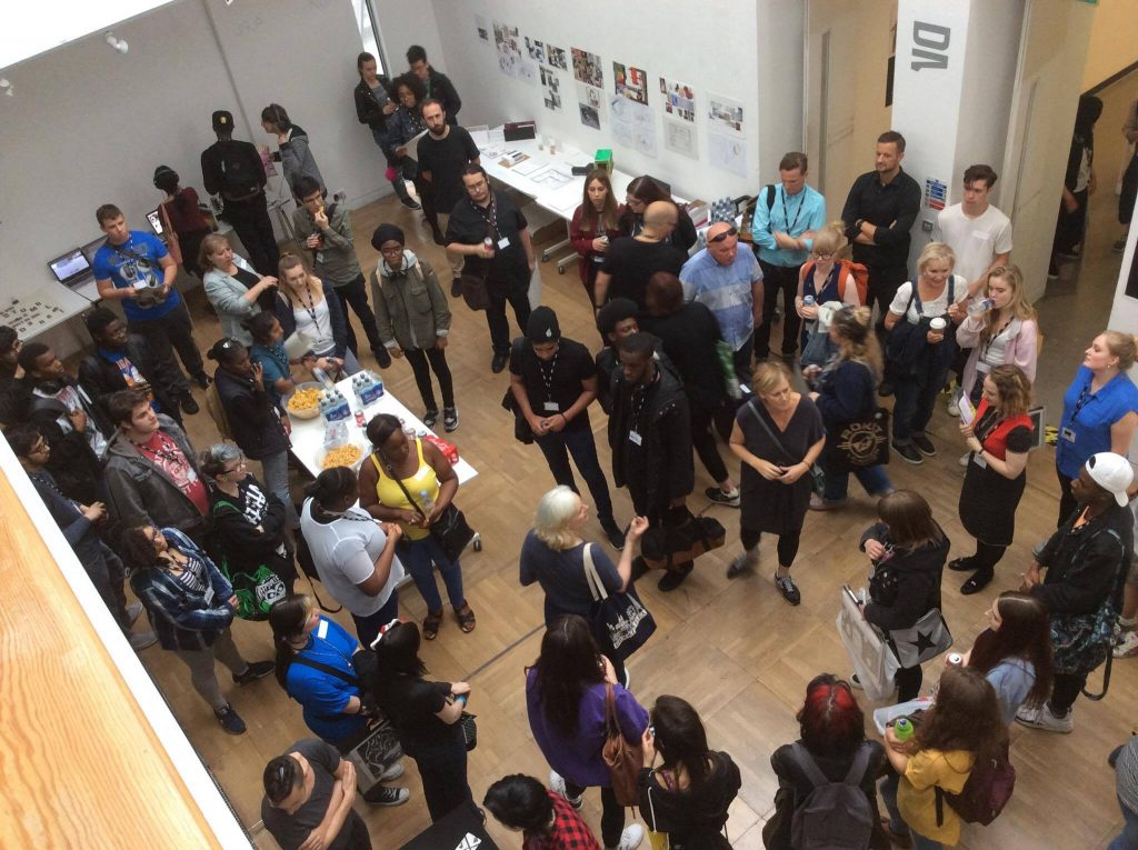 UAL Insights final exhibition and presentation