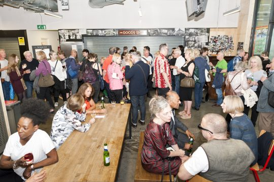 The Pre-1990s alumni gathering welcome drinks