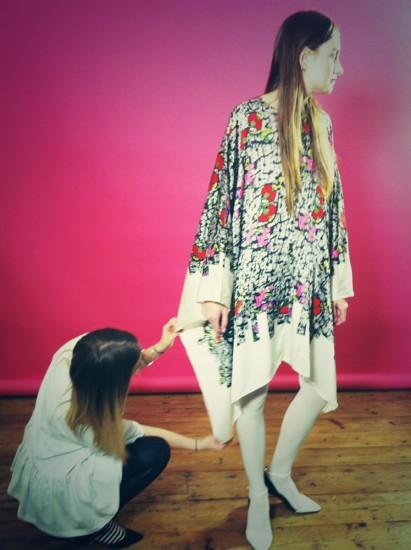 Piece by Kata Nagy, BA (Hons) Fashion Design Technology: Womenswear 2010.