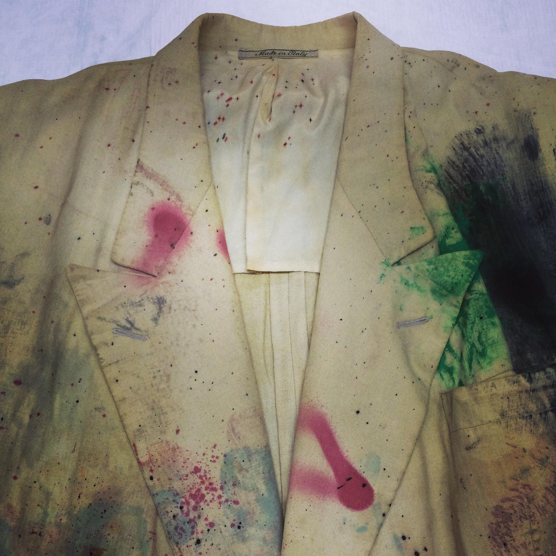 Sebastian Horsley Paint Suit 2