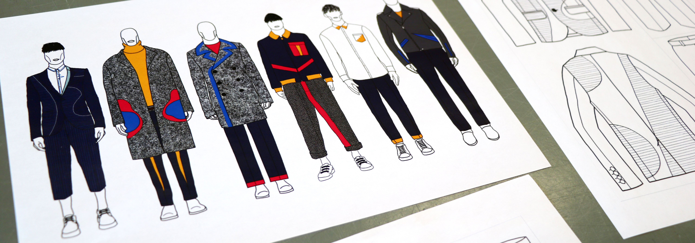 Menswear Design Portfolio Weekend Ual
