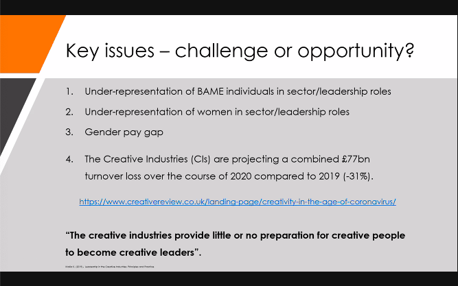Screenshot of a presentation slide