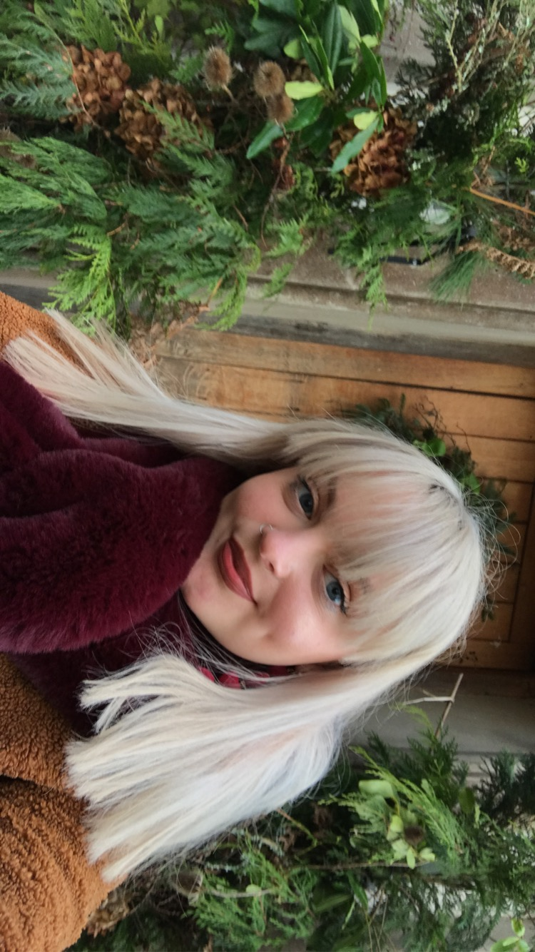 A Photo of Isabella Coombs smiling at the camera