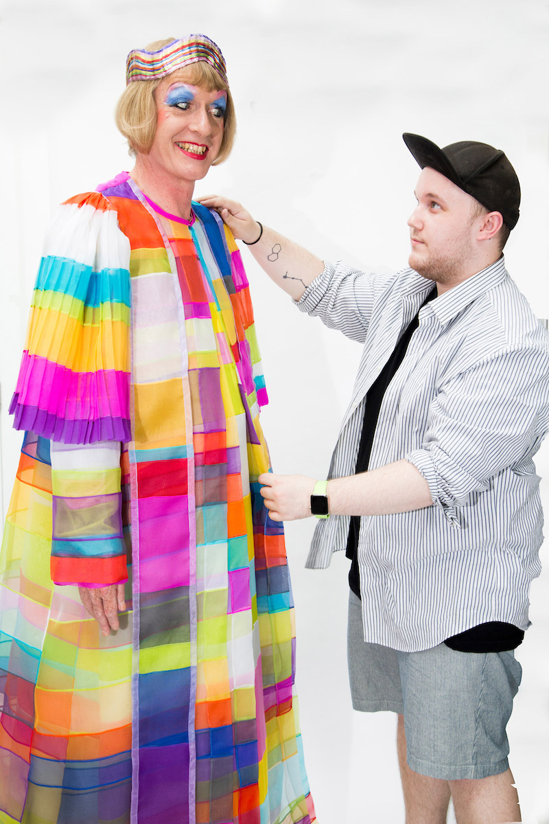 Image of Grayson Perry and Keith Tovey