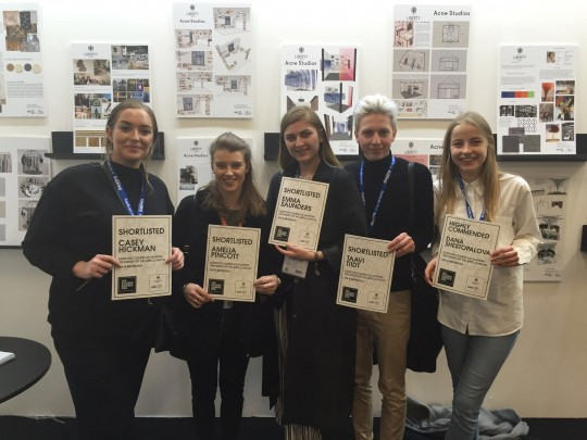 London College of Fashion students shortlisted for the VM Student Awards