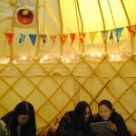 The Centre For Sustainable Fashion's mindful yurt for Green Week 2014
