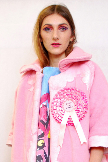 Typical Freaks is a collaborative street wear brand based in London with an emphasis on conceptual prints and unique hand made textiles. Designers, LCF Womenswear graduate Sonia Xiao and CSM MA graduate Seun Ade-Onojobi present capsule, exclusive collections that are made with love and designed to tell a story.