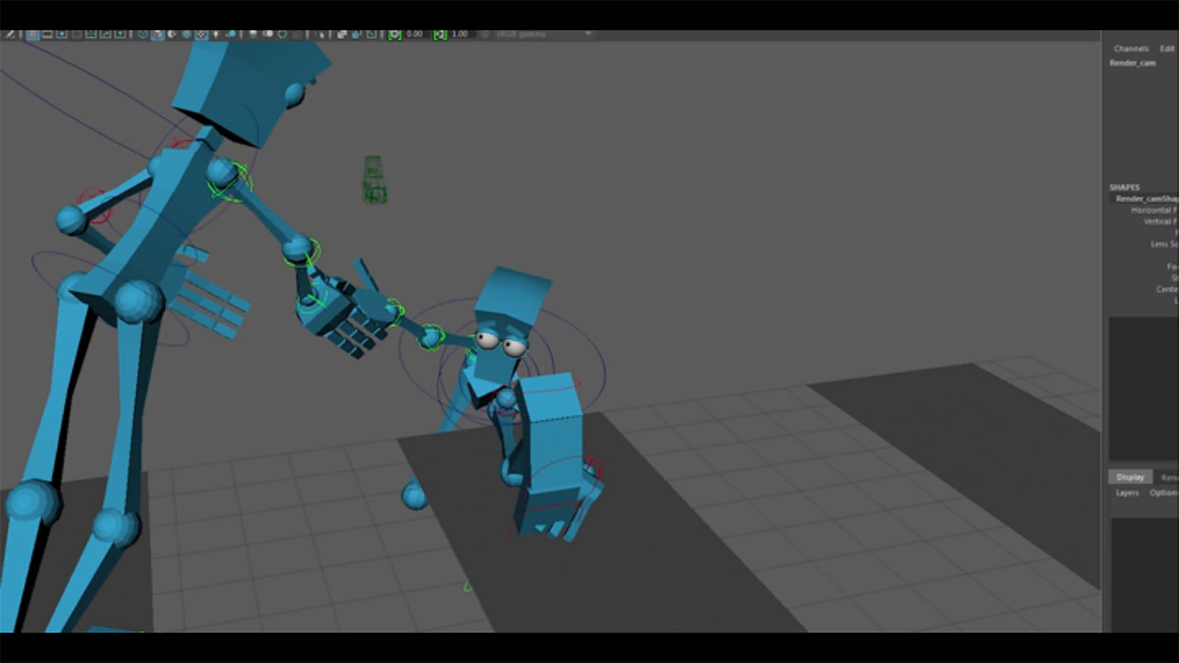 A look at work made in the animation workshop