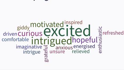 Screenshot of a wordcloud