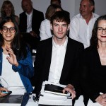The judging panel: Rebecca Gonsalves, Dan Thawley and Frances Corner. Photo: Rebecca Thomas.