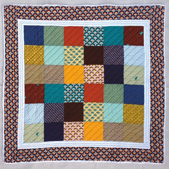 Eduardo Hirschfield my first quilt kit at UAL Now at Pulse 2016