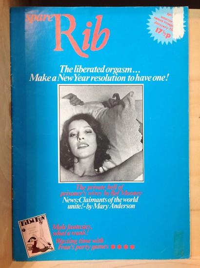 Kate Hepburn (b.1947) and Sally Doust (b. 1944) Spare Rib Magazine, 1973. Photo credit Ruth Sykes