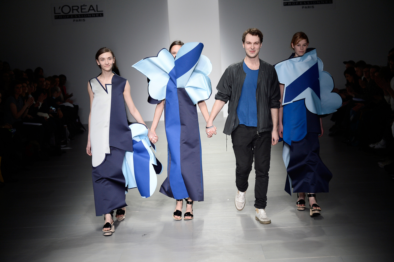 Ondrej Adamek, joint winner of the L'Oréal Professionnel Creative Award