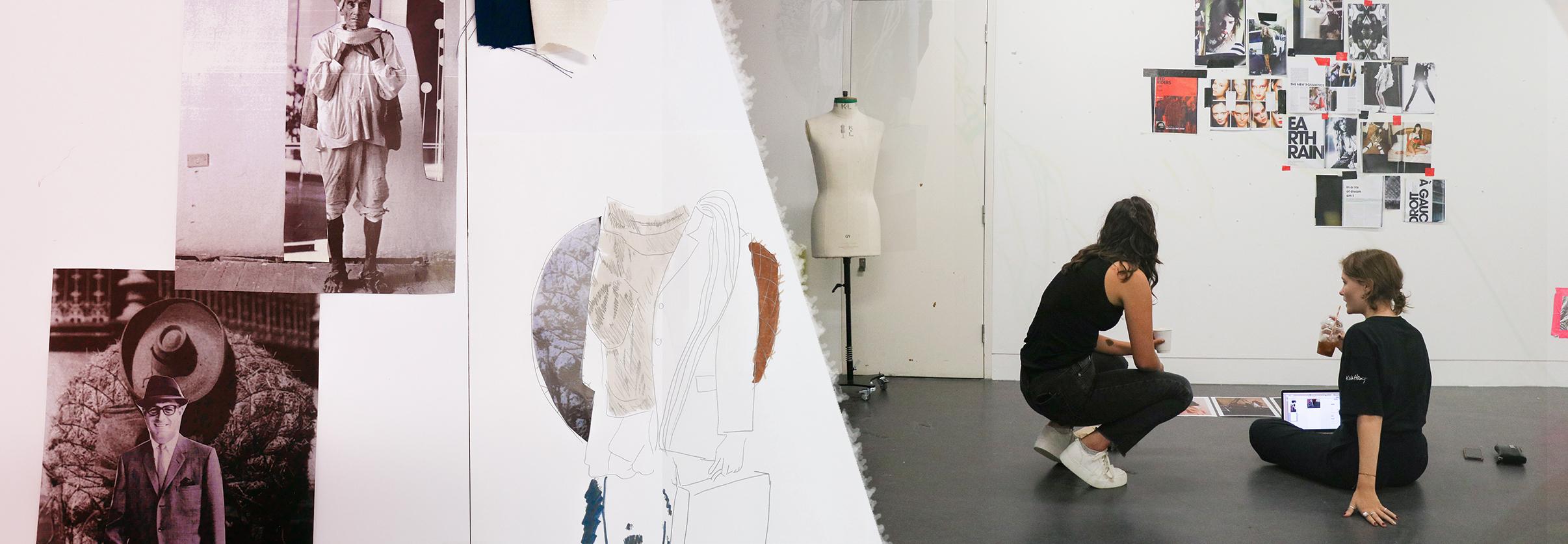 Fashion drawing   UAL