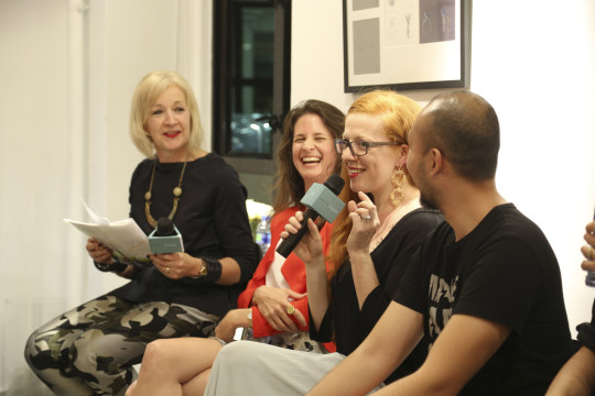 UAL Hong Kong Panel in discussion