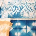 Green Week 2014: Susie Wareham, MA Fashion Futures, dyeing with woad