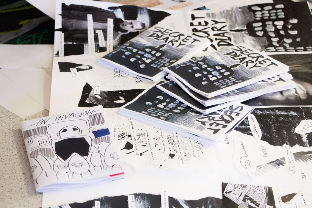 Making Zines: The Art of DIY And Self publication for 16 to 18 Year Olds