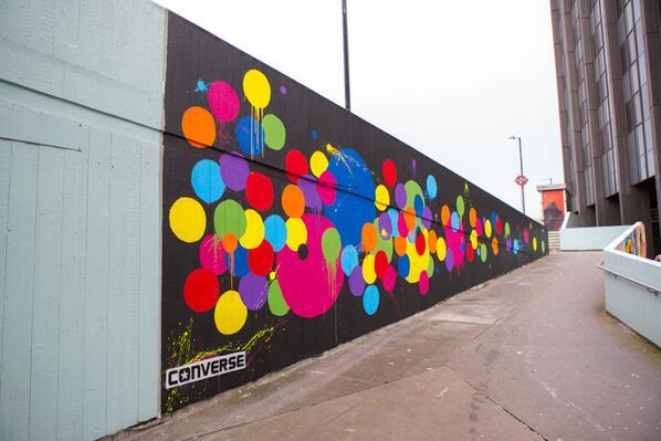 Jessica Bryant & Beth Field. Wall of Clash, 2014
