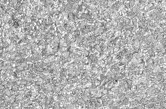 Imaginary worlds doodle