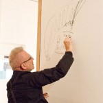 Jean Paul Gaultier visits the Fashion Space Gallery