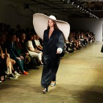 Marta Cesaro, BA (Hons) Bespoke Tailoring, and Shasha Wong, BA (Hons) Fashion Textiles: Knit. Photo: Rebecca Thomas