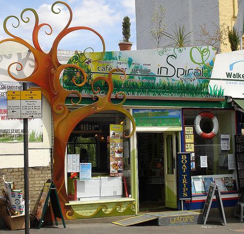 Inspiral Lounge Camden shot by Kake Pugh