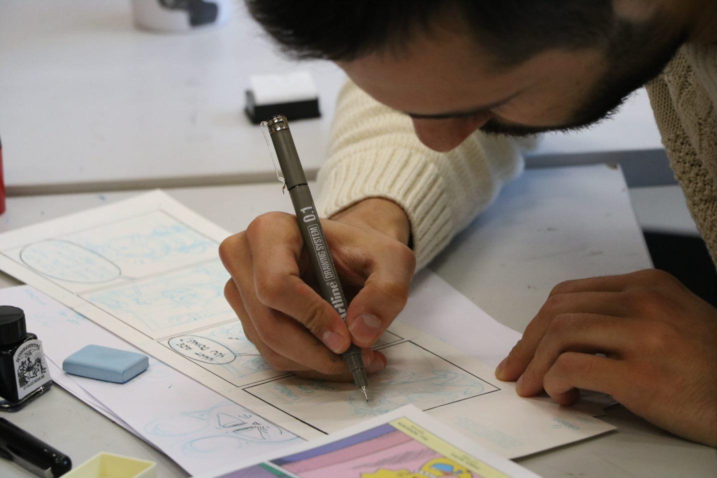 Illustrating Comics