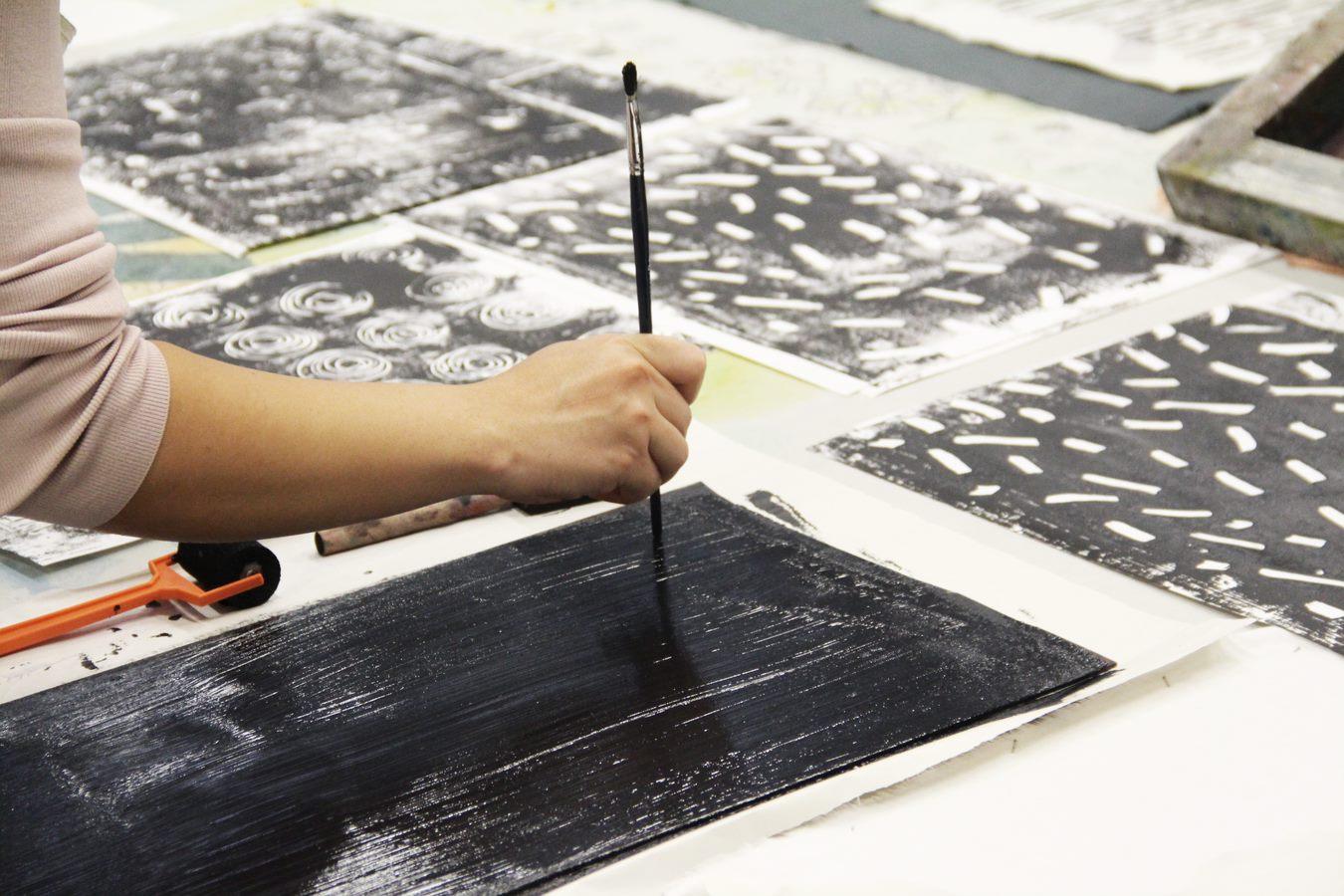 Screen Printing For Interior Fabric Design