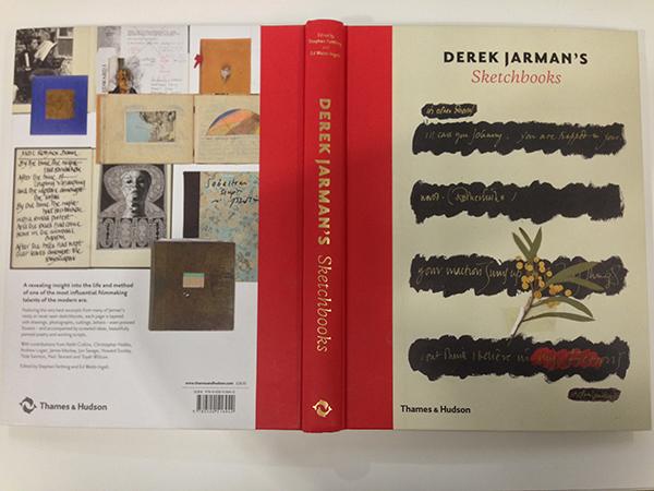 Derek Jarman Sketchbooks cover